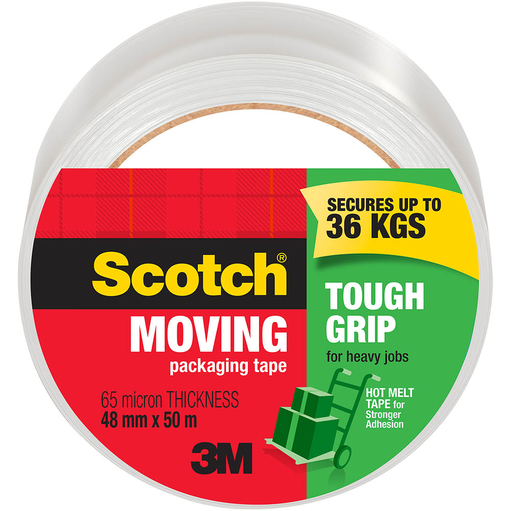Image for SCOTCH 3500-AU TOUGH GRIP MOVING TAPE 48MM X 50M from ONET B2C Store