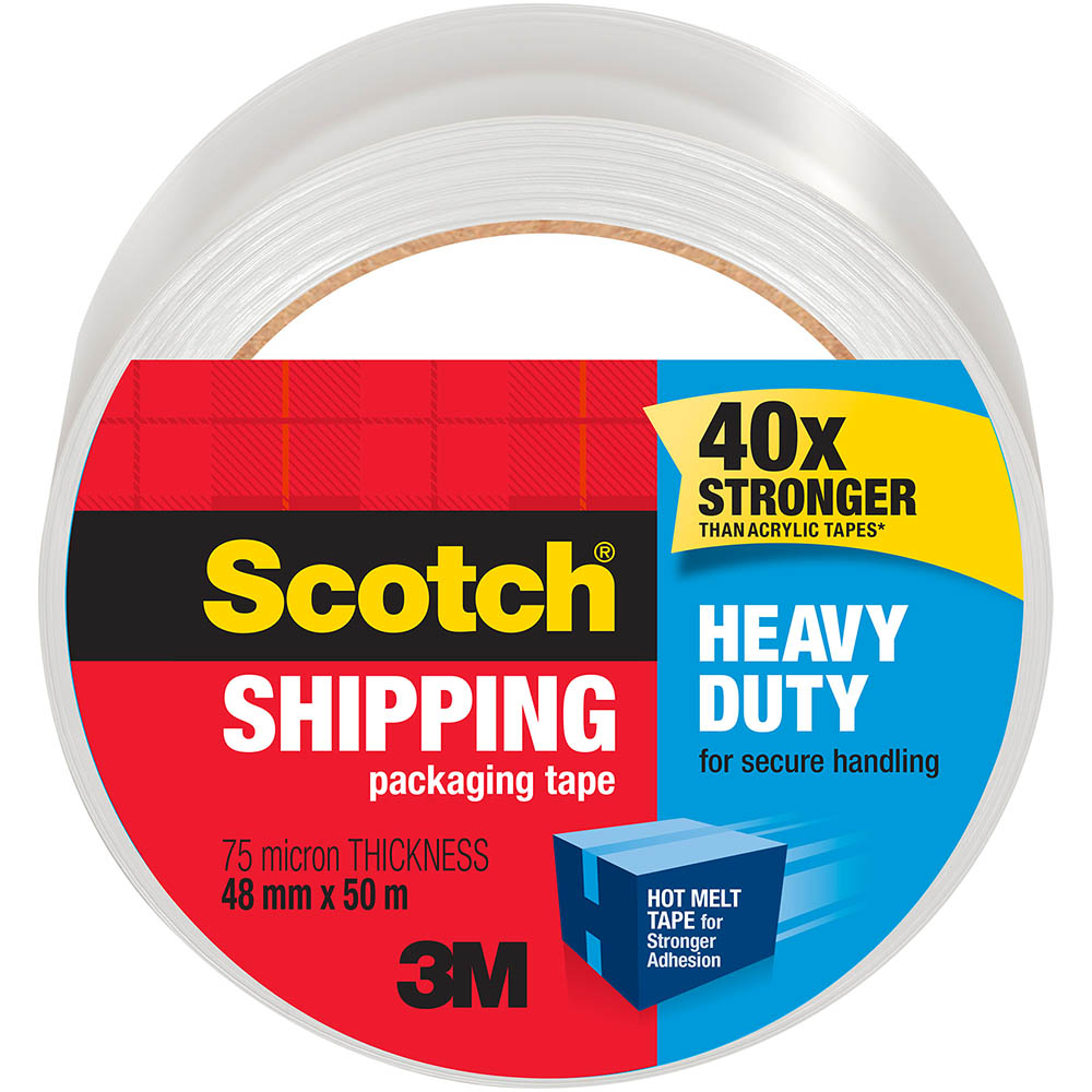 Image for SCOTCH 3850-AU HEAVY DUTY SHIPPING PACKAGING TAPE 48MM X 50M from ONET B2C Store