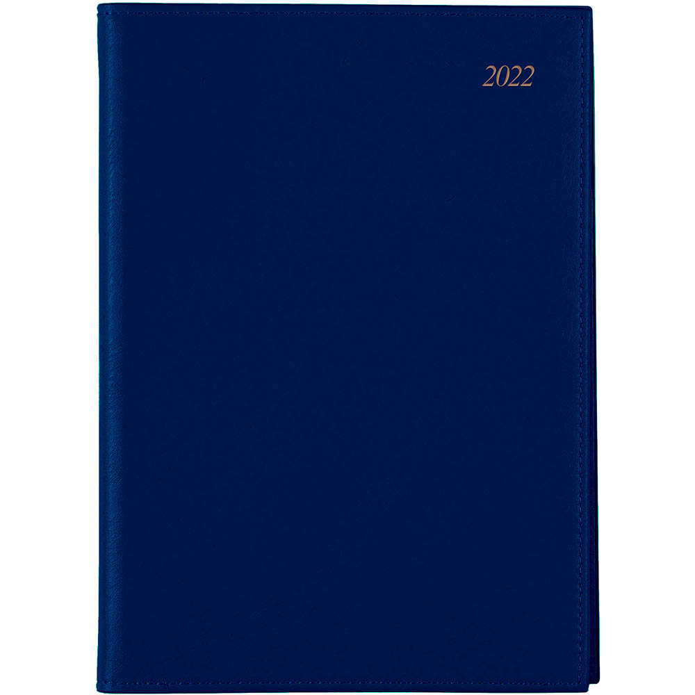 Image for CUMBERLAND 2022 SOHO SPIRAL DIARY PVC WEEK TO VIEW 1 HOUR A4 NAVY from ONET B2C Store