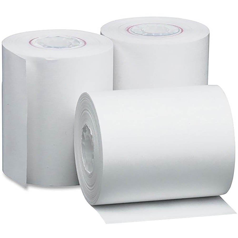 Image for MARBIG CASH REGISTER ROLL LINT FREE 76 X 76 X 11.5MM PACK 4 from Clipboard Stationers & Art Supplies
