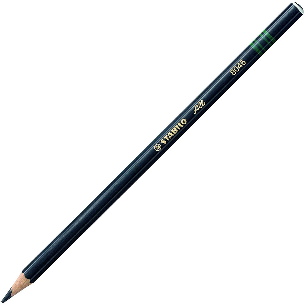 Image for STABILO 8046 ALL PENCIL BLACK from BusinessWorld Computer & Stationery Warehouse