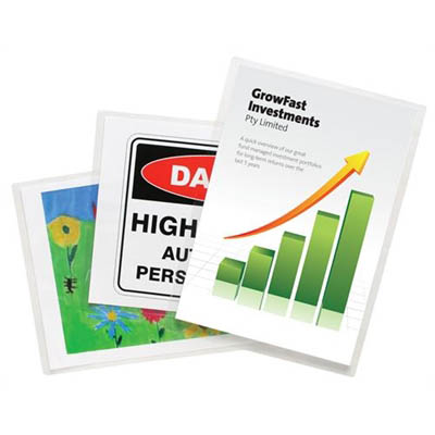 Image for REXEL LAMINATING POUCH 180 MICRON A4 CLEAR PACK 25 from BusinessWorld Computer & Stationery Warehouse