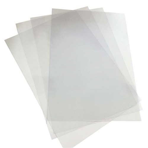 Image for REXEL BINDING COVER PVC 250 MICRON A4 CLEAR PACK 100 from BusinessWorld Computer & Stationery Warehouse