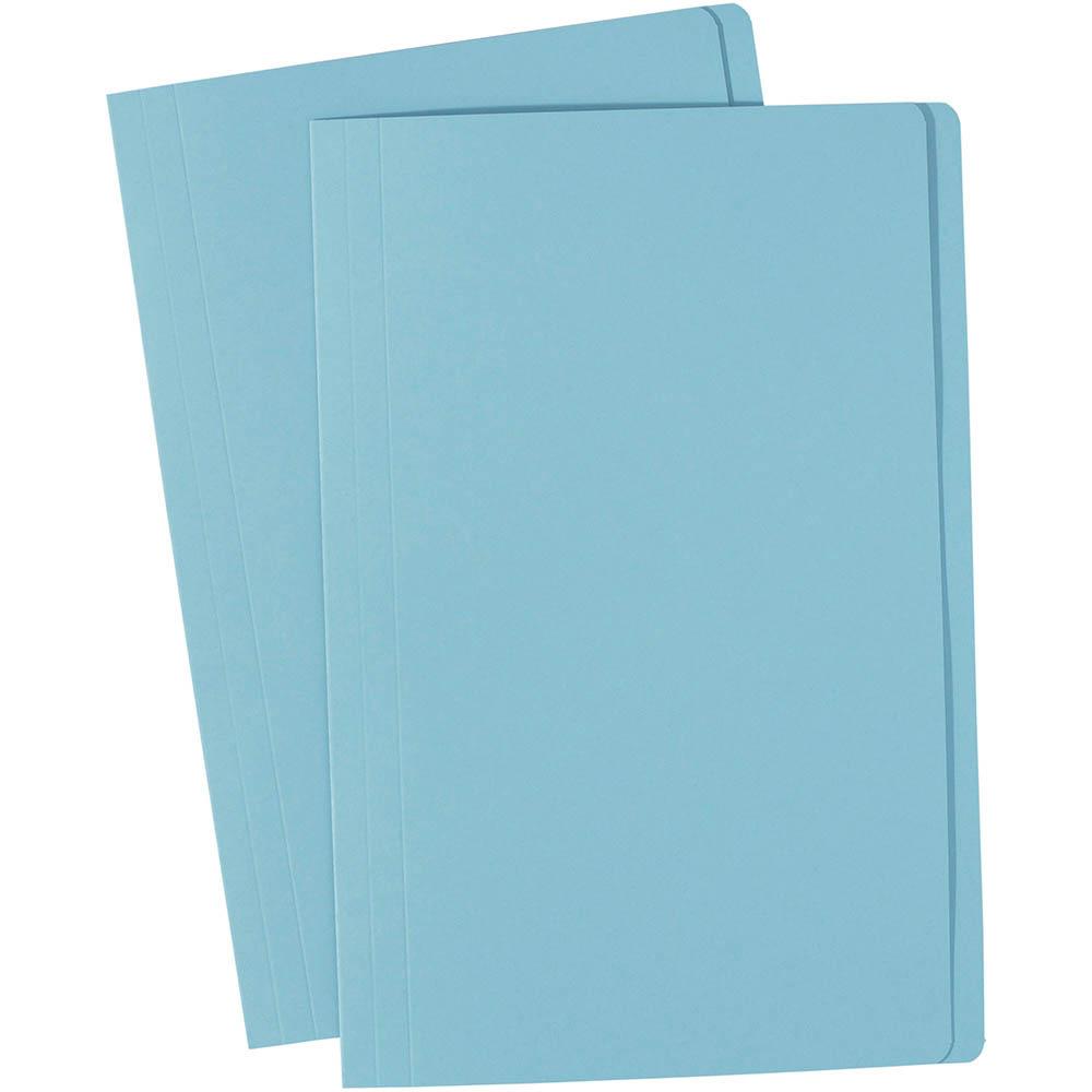 Image for AVERY 81582 MANILLA FOLDER FOOLSCAP LIGHT BLUE BOX 100 from Mitronics Corporation