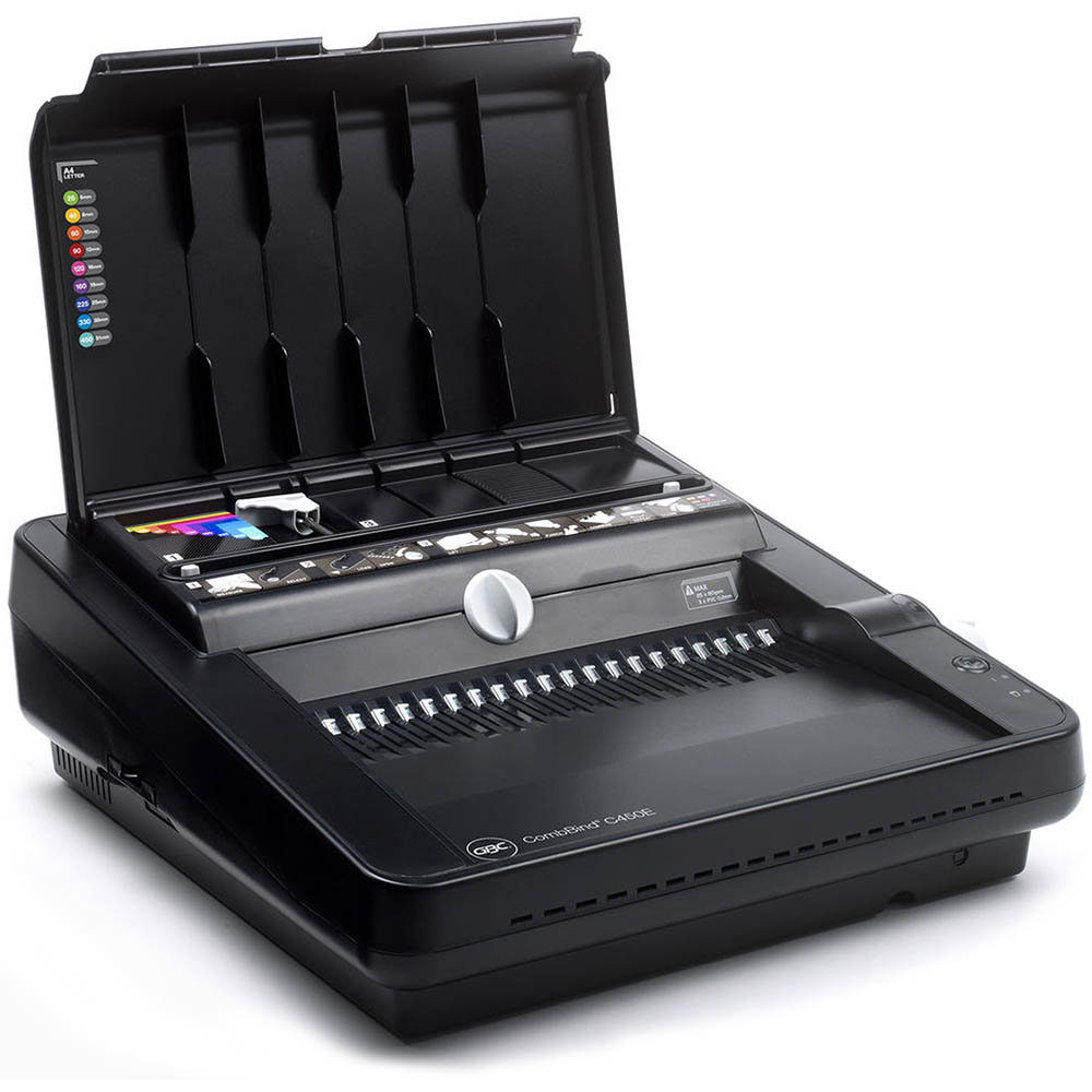 Image for GBC COMBBIND C450E ELECTRIC BINDING MACHINE PLASTIC COMB BLACK from BusinessWorld Computer & Stationery Warehouse