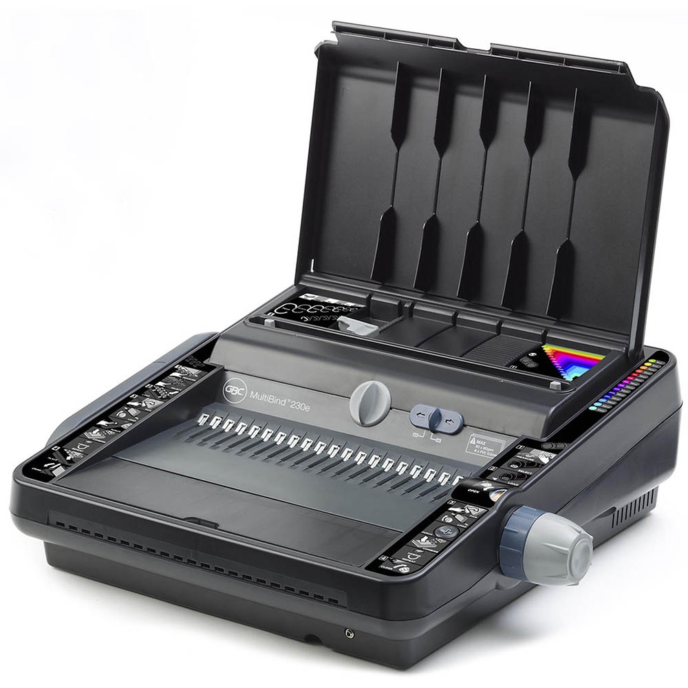 Image for GBC MULTIBIND MB230E ELECTRIC BINDING MACHINE PLASTIC COMB BLACK from BusinessWorld Computer & Stationery Warehouse