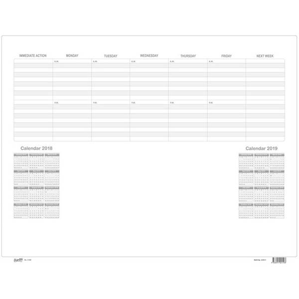 Image for BANTEX DESK PAD CALENDAR REFILL PACK 10 SHEETS from BusinessWorld Computer & Stationery Warehouse