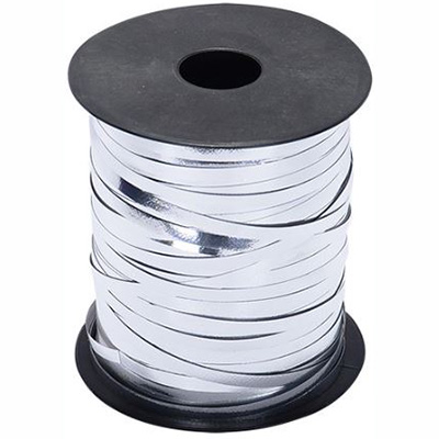 Image for CUMBERLAND CURLING RIBBON 5MM X 460M SILVER from ONET B2C Store