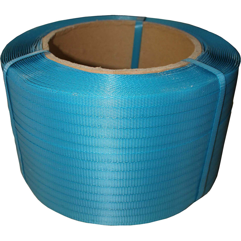 Image for CUMBERLAND POLYPROPYLENE STRAPPING 12MM X 1000M BLUE from ONET B2C Store