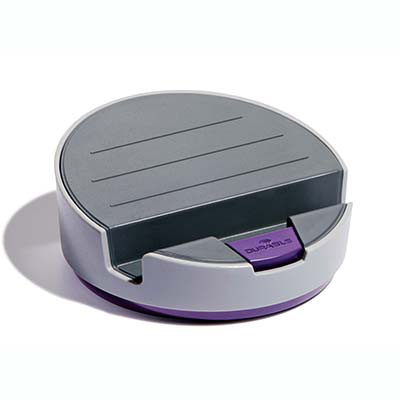 Image for DURABLE VARICOLOR SMART OFFICE TABLET BASE GREY/PURPLE from BusinessWorld Computer & Stationery Warehouse