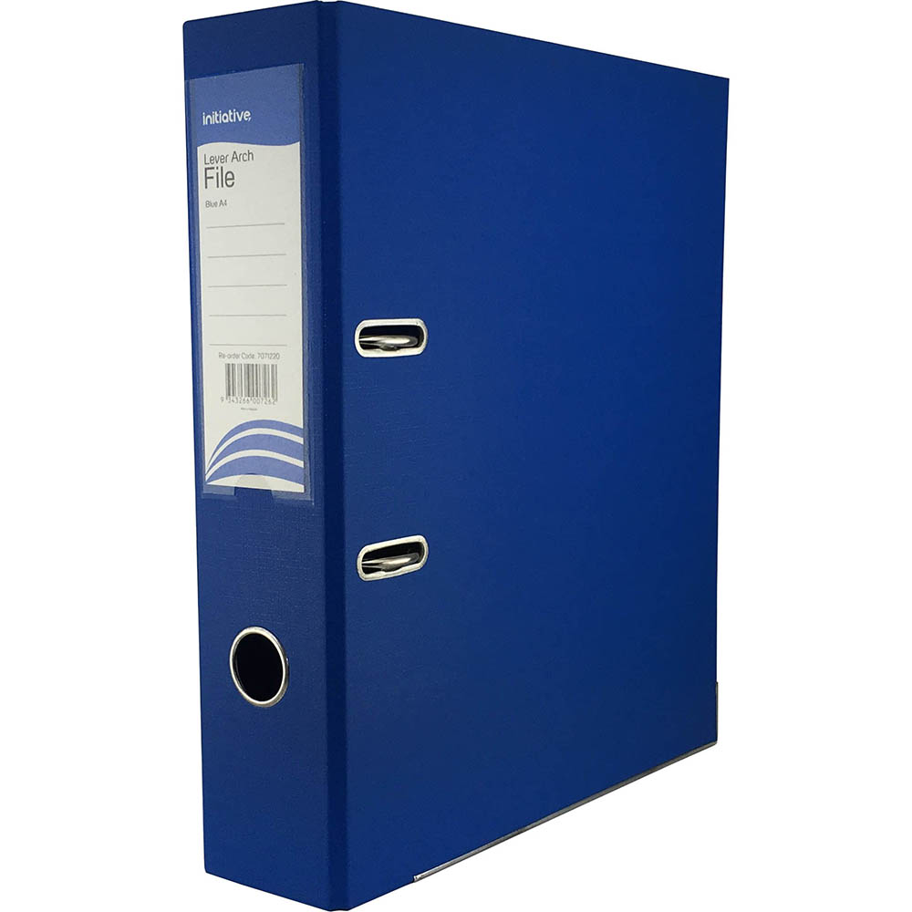 Image for INITIATIVE LEVER ARCH FILE PP A4 BLUE from ONET B2C Store