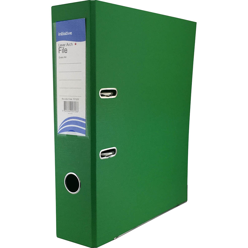 Image for INITIATIVE LEVER ARCH FILE PP 70MM A4 GREEN from ONET B2C Store