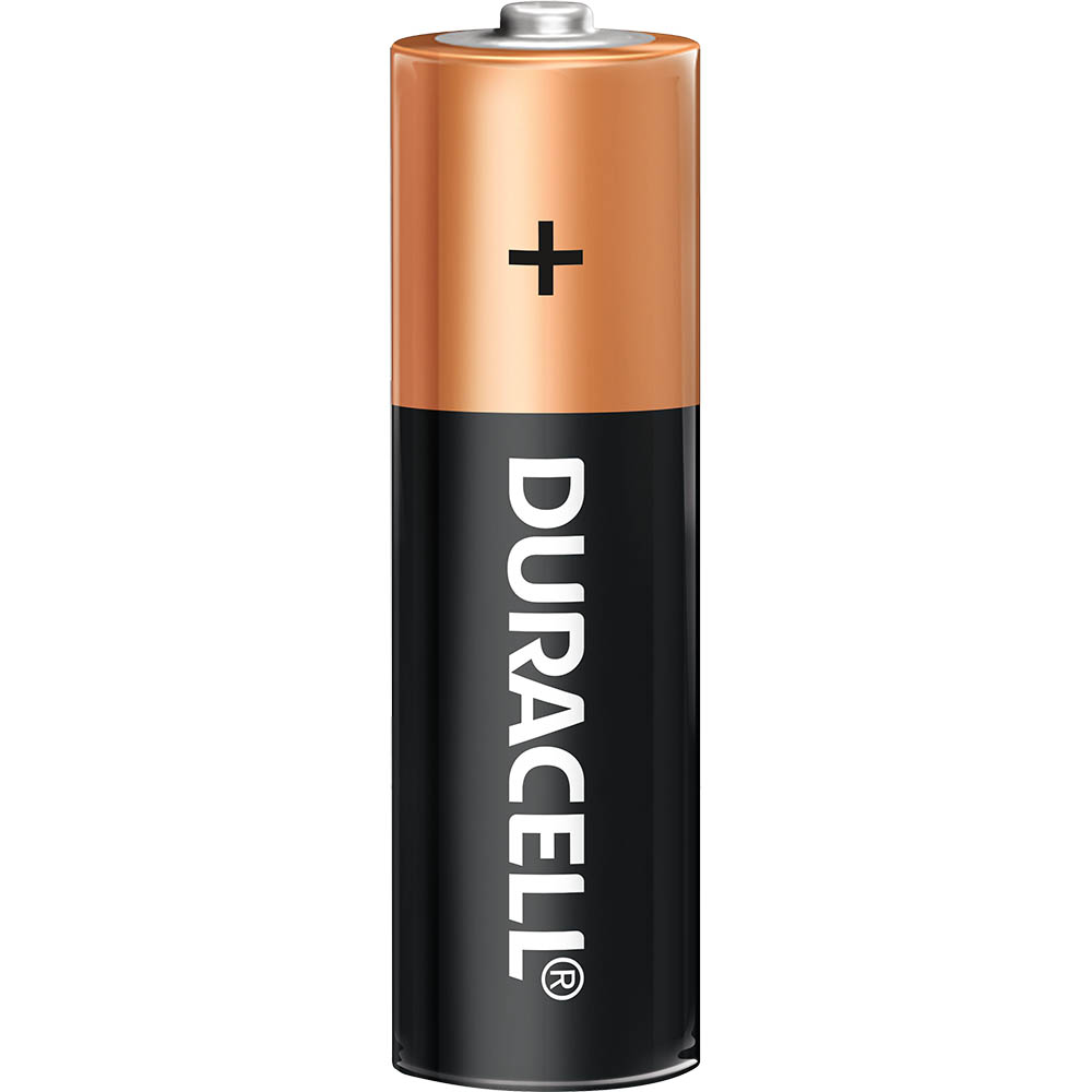 Image for DURACELL COPPERTOP ALKALINE AA BATTERY from Memo Office and Art