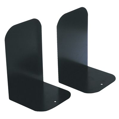 Image for ESSELTE ELEMENTS BOOKENDS METAL BLACK from Holiday Coast Office