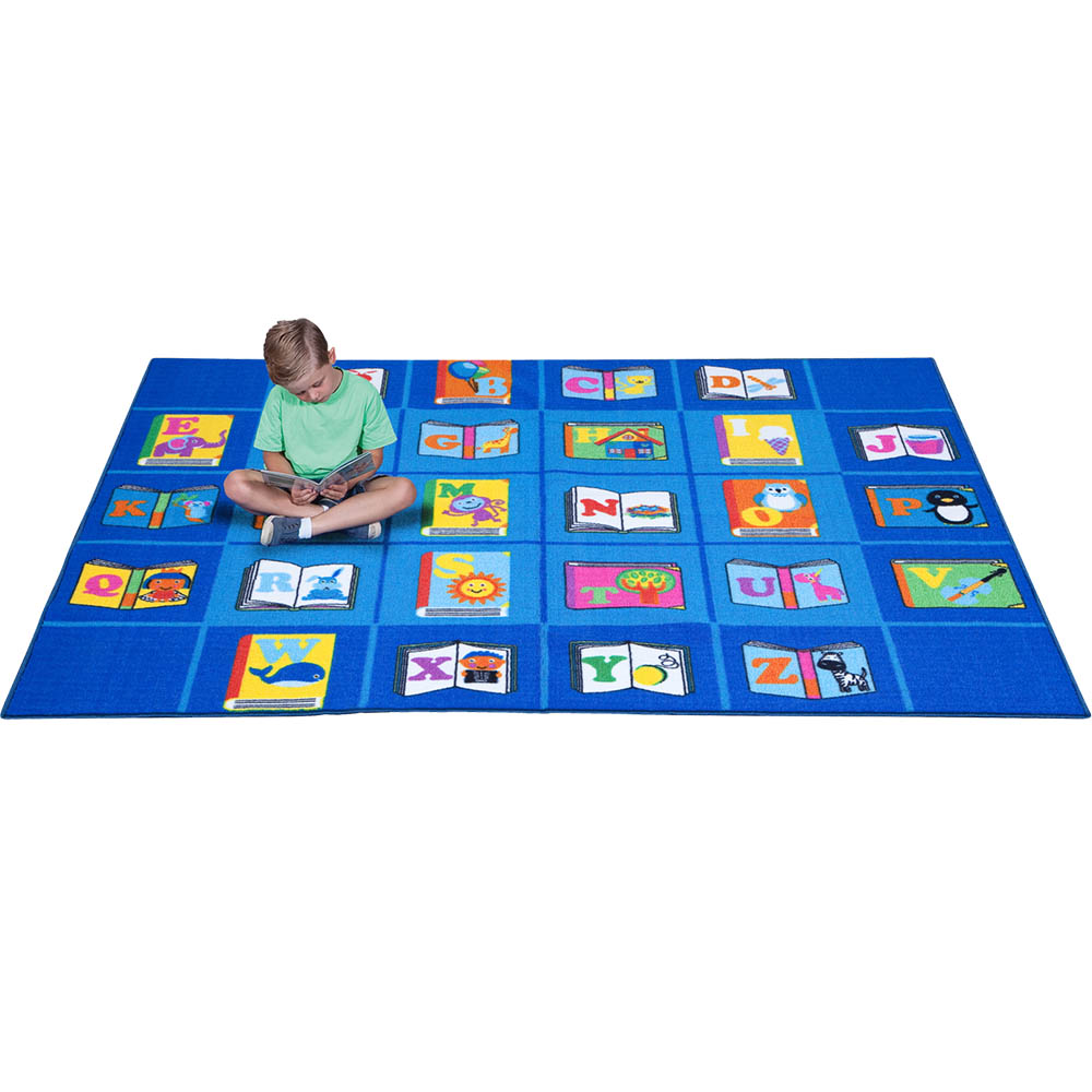 Image for ELIZABETH RICHARDS MY FAVOURITE BOOK RUG 4 X 3M BLUE from BusinessWorld Computer & Stationery Warehouse