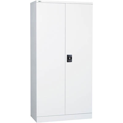 Image for GO SWING DOOR CUPBOARD 3 SHELVES 910 X 450 X 1830MM WHITE CHINA from Clipboard Stationers & Art Supplies