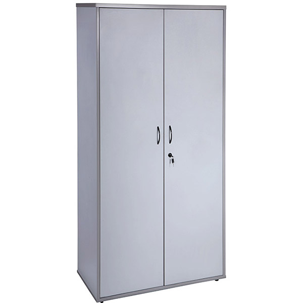 Image for RAPID VIBE CUPBOARD LOCKABLE 900 X 450 X 1800MM GREY from Clipboard Stationers & Art Supplies