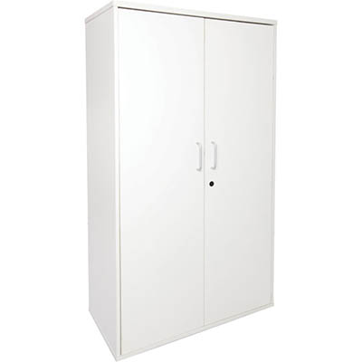 Image for RAPID VIBE CUPBOARD LOCKABLE 900 X 450 X 1800MM WHITE from Clipboard Stationers & Art Supplies