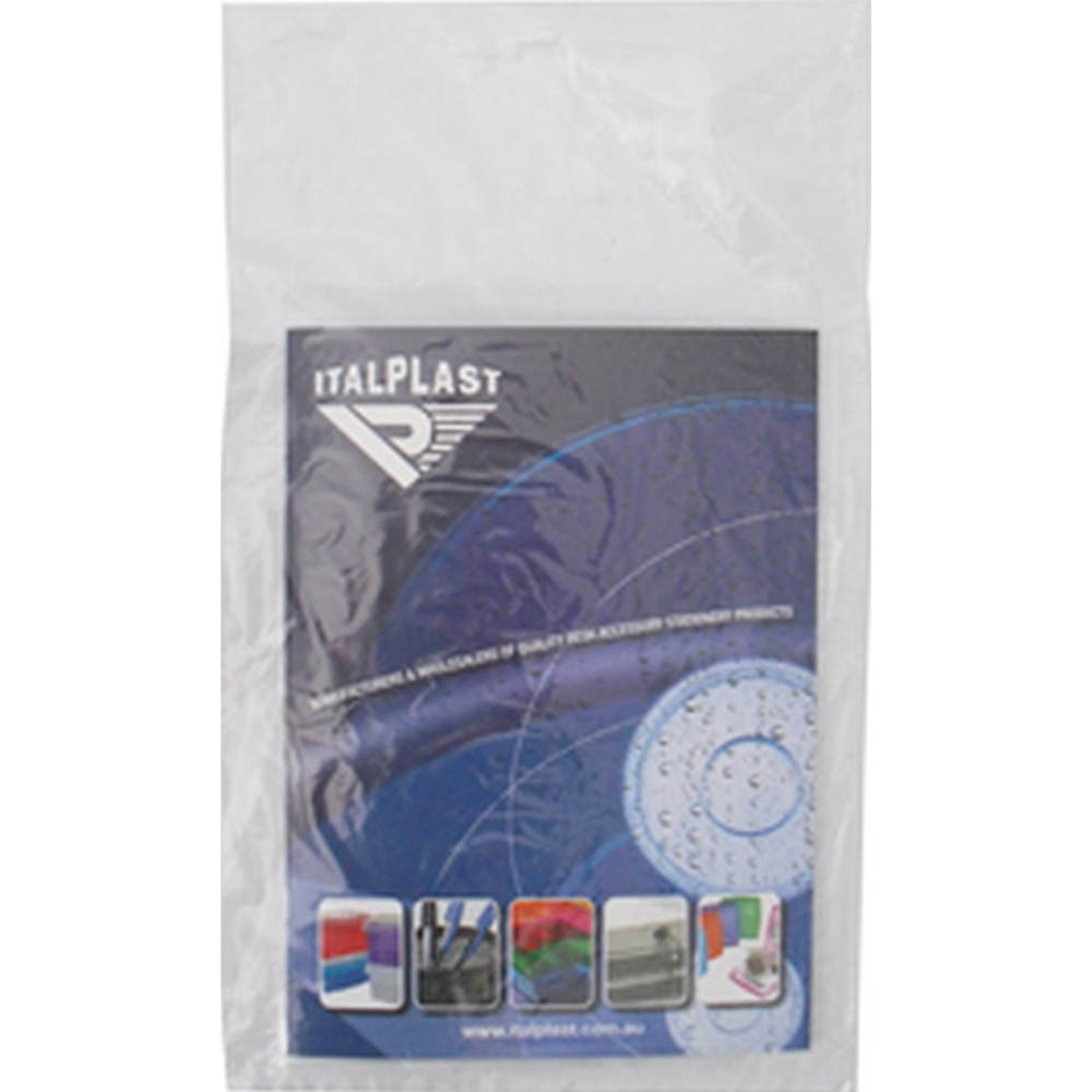 Image for ITALPLAST HEAT SEALER POLY BAGS SMALL 150 X 230MM X 25UM PACK 100 from ONET B2C Store