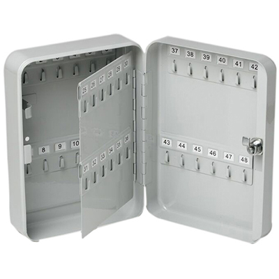 Image for ESSELTE KEY CABINET 48 KEY CAPACITY GREY from Devon Office Products