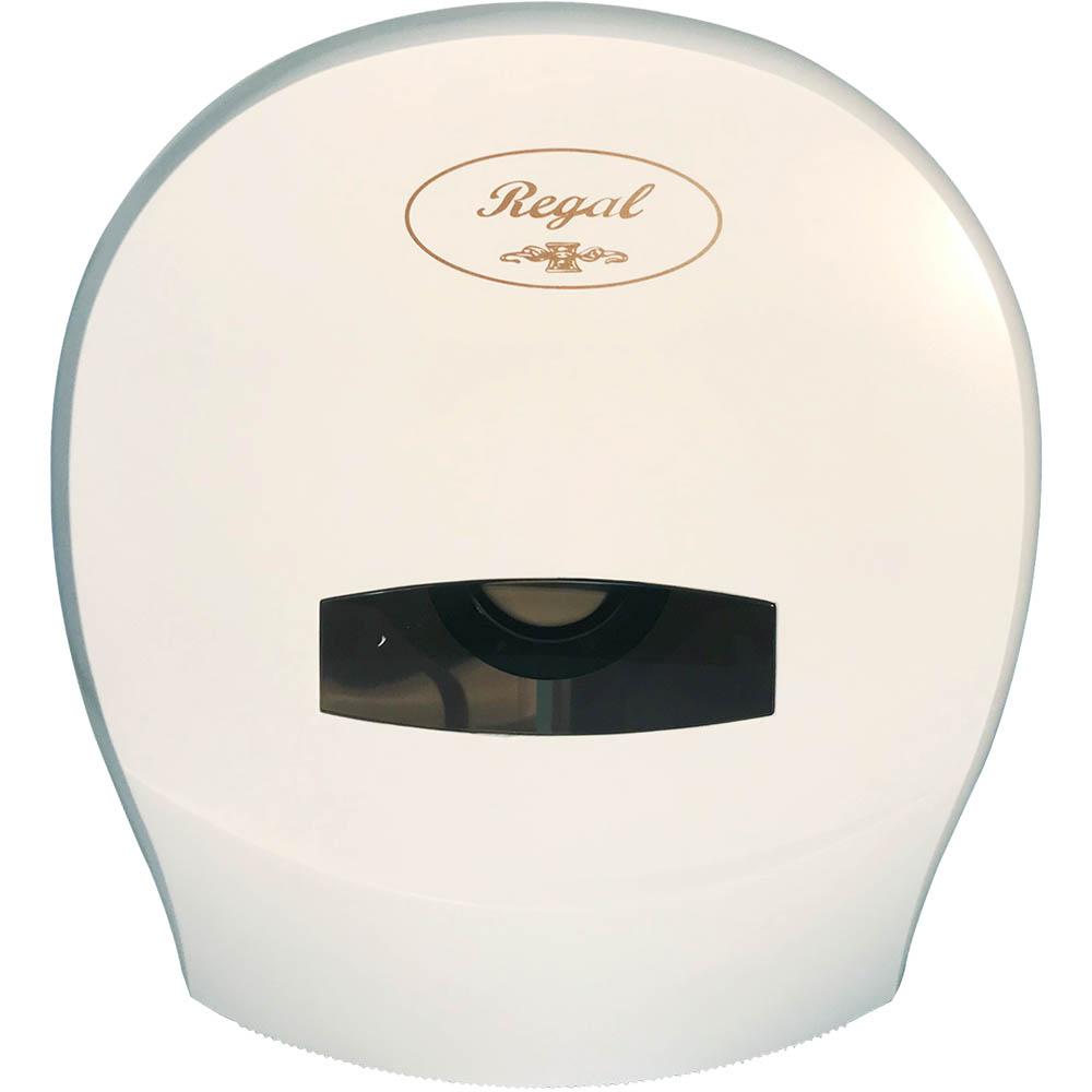 Image for REGAL JUMBO TOILET ROLL DISPENSER SINGLE ABS WHITE from ONET B2C Store