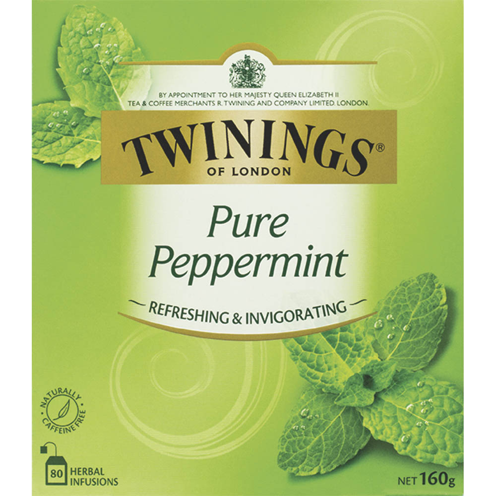 Image for TWININGS TEA BAGS PURE PEPPERMINT PACK 80 from ONET B2C Store