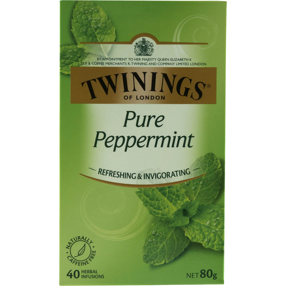 Image for TWININGS TEA BAGS PURE PEPPERMINT PACK 40 from ONET B2C Store