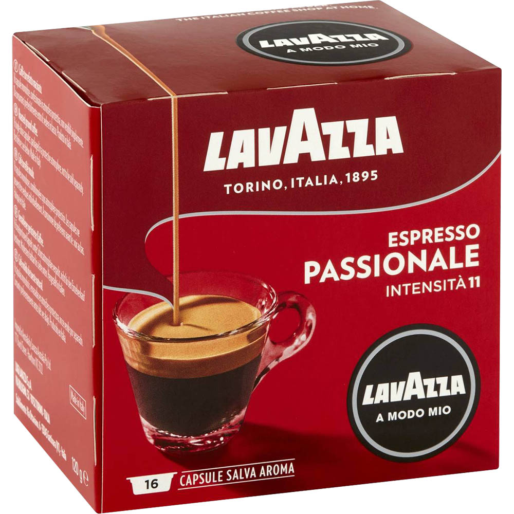 Image for LAVAZZA ESPRESSO A MODO MIO PASSIONALE CAPSULES PACK 16 from ONET B2C Store