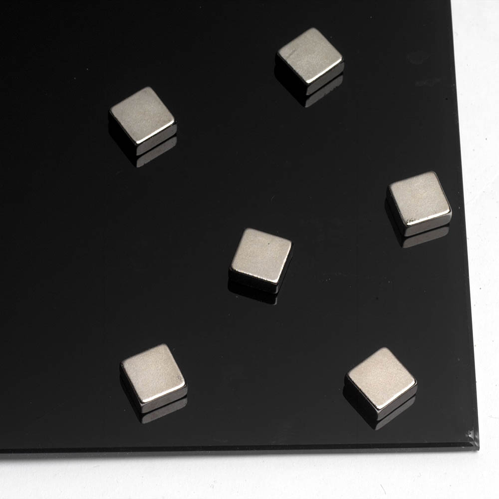 Image for NAGA SUPER STRONG SQUARE STEEL MAGNETS PACK 6 from ONET B2C Store