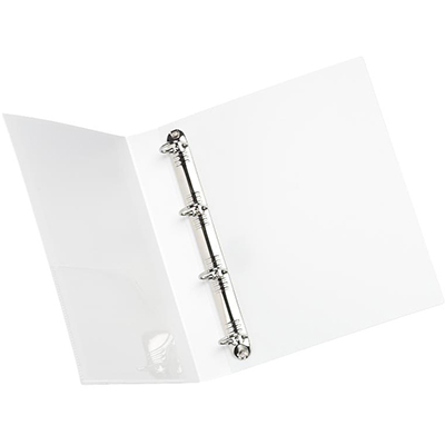 Image for INITIATIVE INSERT RING BINDER 4D 65MM A4 WHITE from ONET B2C Store