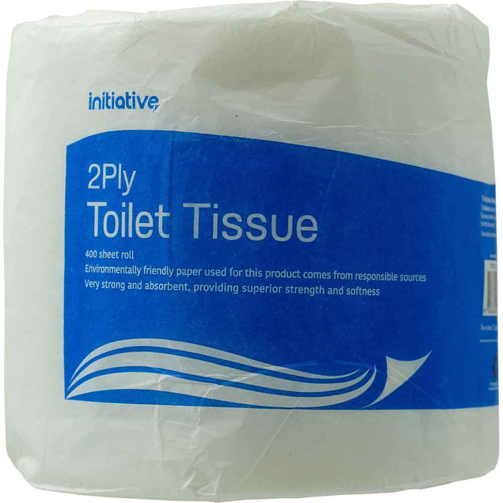 Image for INITIATIVE TOILET TISSUE 2 PLY 400 SHEET ROLL from ONET B2C Store