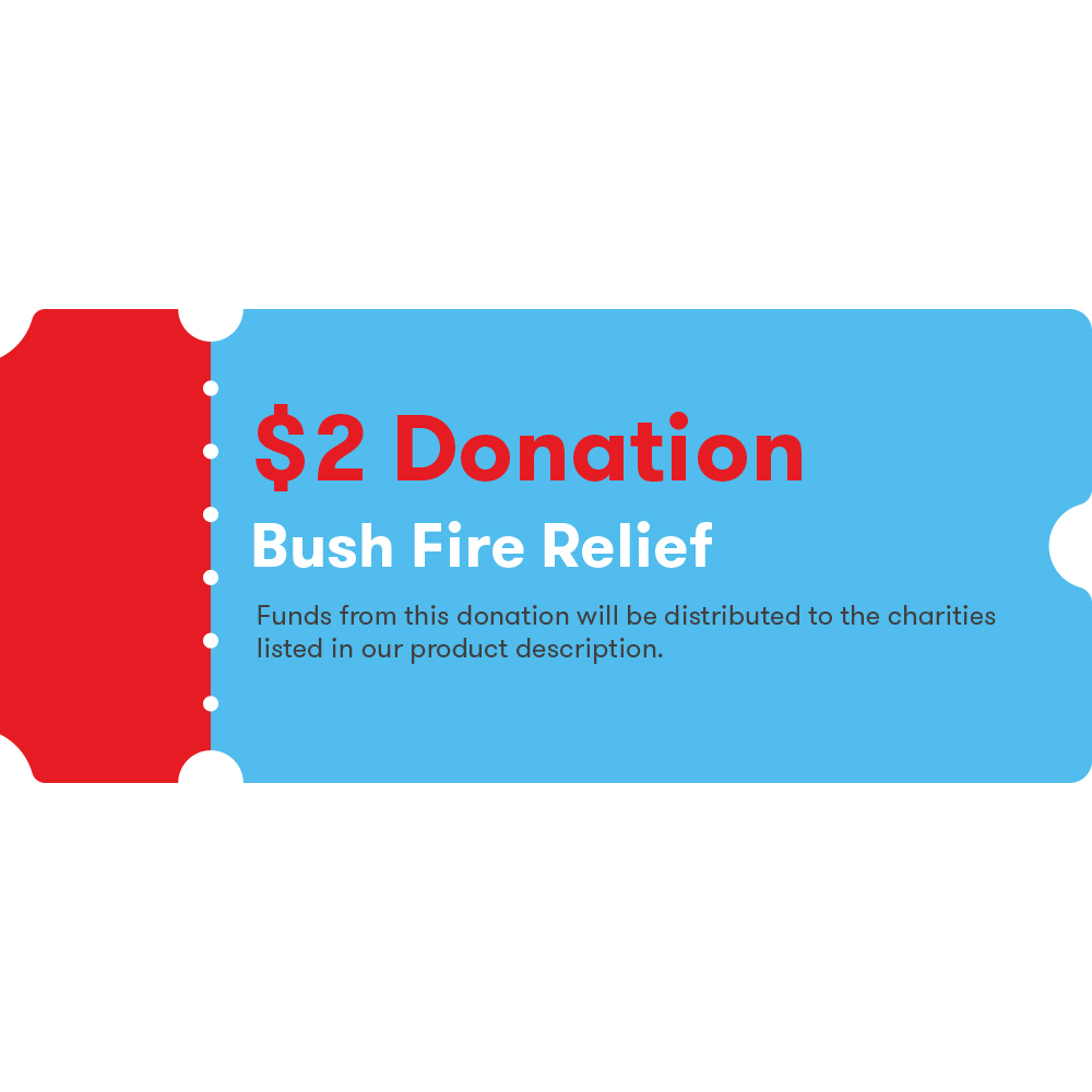 Image for DONATION COUPON FOR BUSH FIRE RELIEF $2 from Devon Office Products
