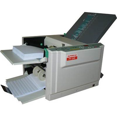 Image for SUPERFAX MPF340 PAPER FOLDING MACHINE A3 from ONET B2C Store