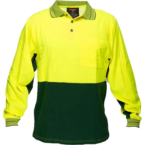 Image for PRIME MOVER HV213 HI VIS POLO SHIRT COTTON BACKED 2 TONE from Clipboard Stationers & Art Supplies