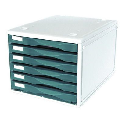 Image for METRO DESKTOP FILING 6 DRAWERS B4 BLUEBERRY from BusinessWorld Computer & Stationery Warehouse