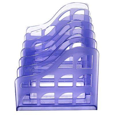 Image for METRO VERTICAL ORGANISER FILE SORTER GRAPE from BusinessWorld Computer & Stationery Warehouse