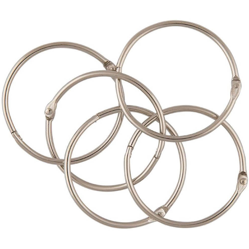Image for ESSELTE HINGED RINGS SIZE 1 76MM BOX 10 from Holiday Coast Office
