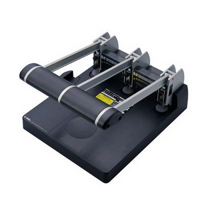 Image for CARL HEAVY DUTY 3 HOLE PUNCH 145 SHEET CAPACITY BLACK from Challenge Office Supplies