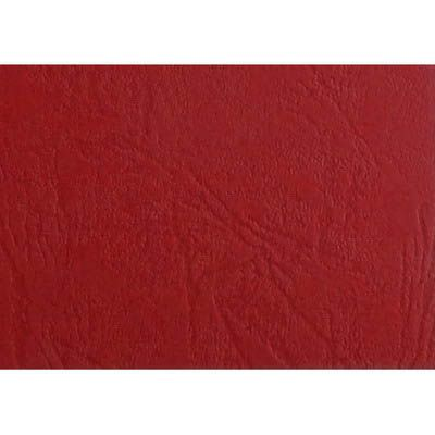 Image for GBC IBICO BINDING COVER LEATHERGRAIN 300GSM A4 RED PACK 100 from ONET B2C Store