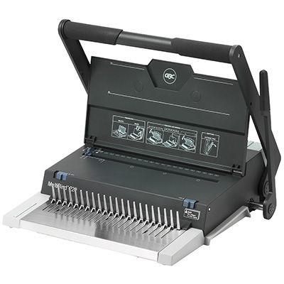 Image for GBC MULTIBIND 220 MANUAL BINDING MACHINE PLASTIC COMB BLACK from Clipboard Stationers & Art Supplies