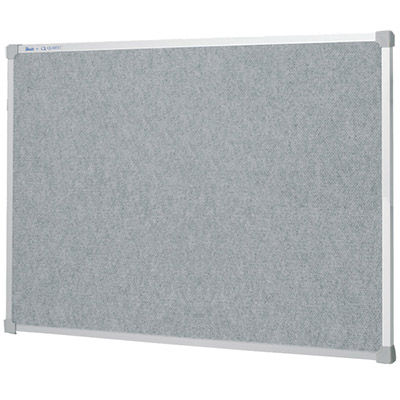 Image for QUARTET PENRITE FABRIC BULLETIN BOARD 1200 X 900MM LIGHT GREY from ONET B2C Store