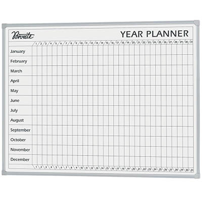 Image for QUARTET PENRITE PLANNER BOARD YEAR 900 X 1200MM from ONET B2C Store