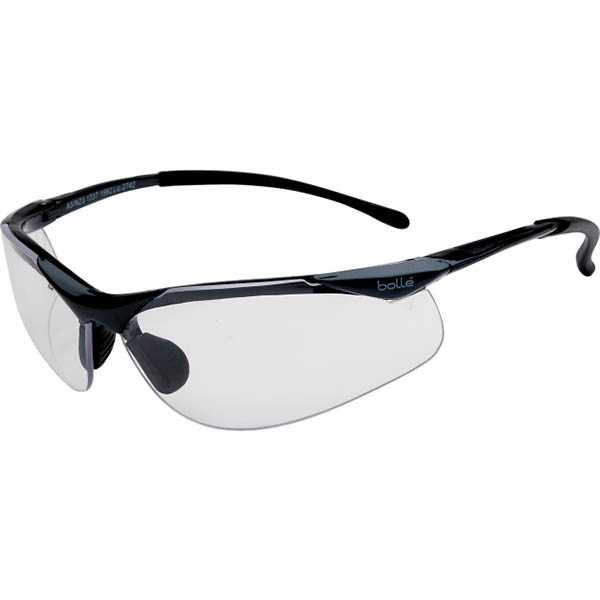 Image for BOLLE SAFETY CONTOUR SAFETY GLASSES CLEAR LENS from ONET B2C Store