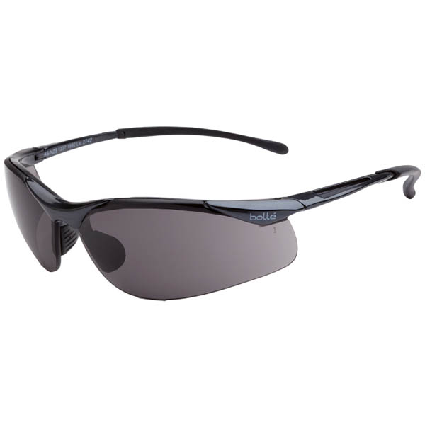 Image for BOLLE SAFETY CONTOUR SFAETY GLASSES SMOKE LENS from ONET B2C Store