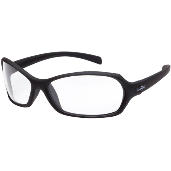 Image for BOLLE SAFETY HURRICANE SAFETY GLASSES BLACK FRAME CLEAR LENS from ONET B2C Store