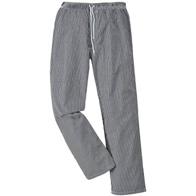 Image for PORTWEST C079 BROMLEY CHEFS TROUSERS CHECK from ONET B2C Store