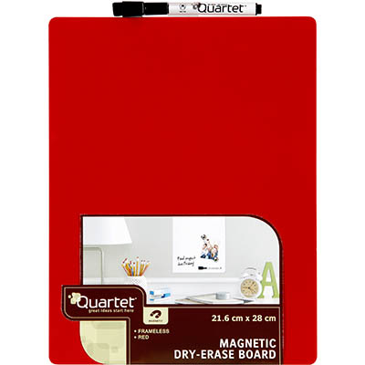 Image for QUARTET WHITEBOARD MAGNETIC TILE 216 X 280MM RED from Challenge Office Supplies