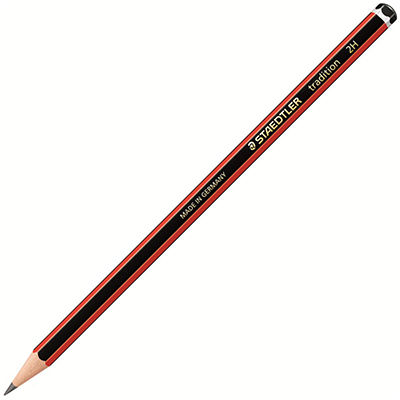 Image for STAEDTLER 110 TRADITION GRAPHITE PENCILS 2H BOX 12 from BusinessWorld Computer & Stationery Warehouse