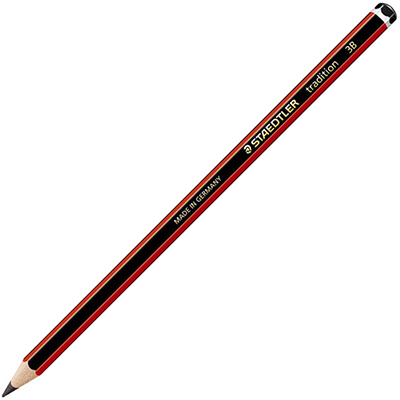 Image for STAEDTLER 110 TRADITION GRAPHITE PENCILS 3B BOX 12 from BusinessWorld Computer & Stationery Warehouse