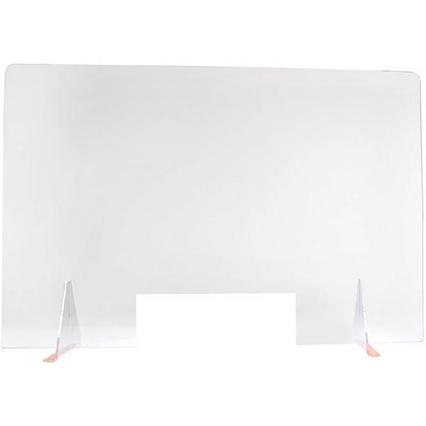 Image for TRAFALGAR ACRYLIC SNEEZE GUARD SCREEN 1200 X 800MM LARGE from Holiday Coast Office